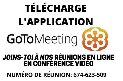 Réunion en ligne AA avec GoTo Meeting